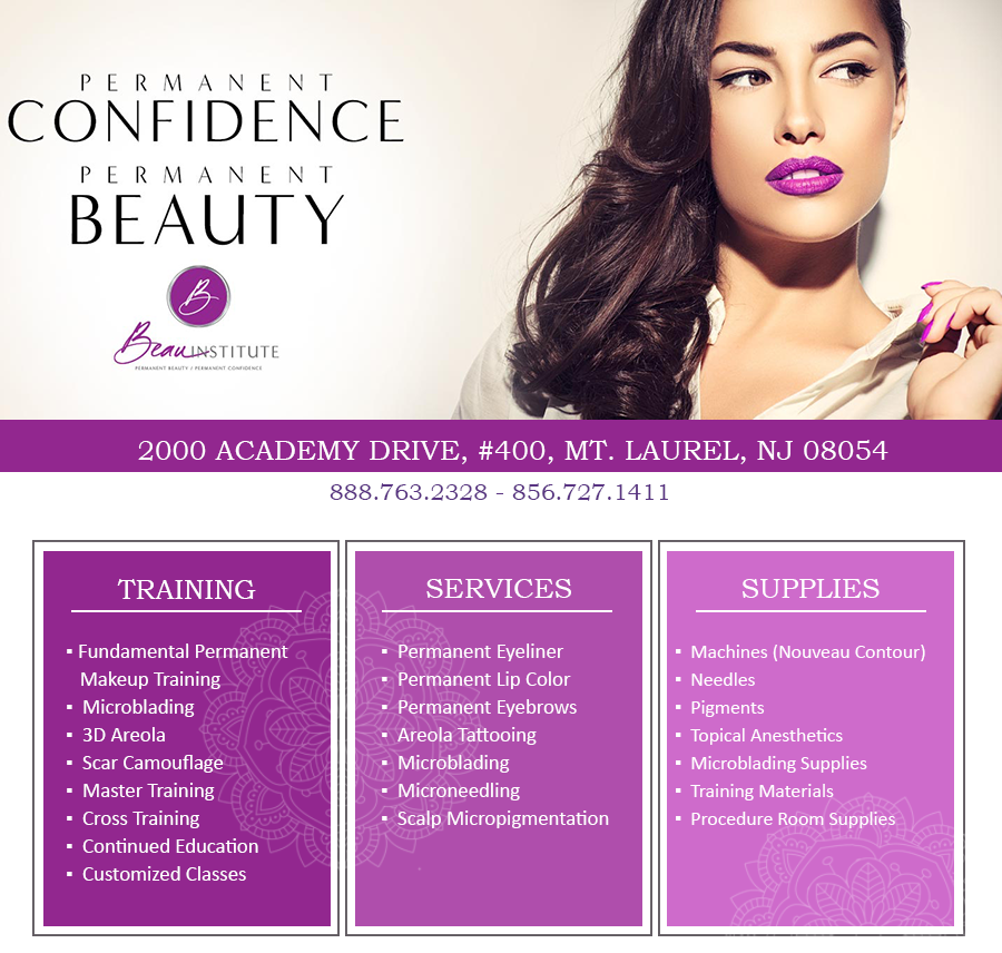 Permanent Cosmetic Makeup Training In New Jersey With Beau Institute
