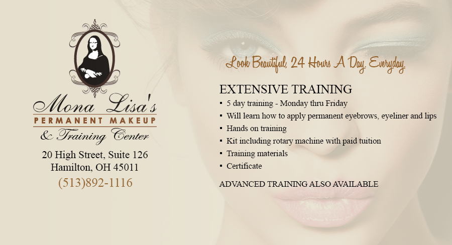 Mona Lisa's Permanent Makeup & Training Ctr | Hamilton OH